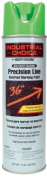 Rustoleum 203023 500ml Fluorescent Green Precision-Line Inverted Marking Paint A - Case of 12