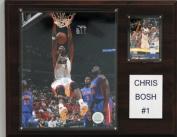 C & I Collectables 1215CBOSH NBA 12 X 15 Chris Bosh Miami Heat Player Plaque