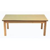 A+ Childsupply F802122 Rectangular Table 22 inch H