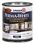 Perma-White Mould And Mildew-Proof Interior Paint-INT SAT WHT MILDEW PAINT