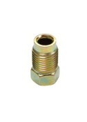 S.U.R. & R. SRRBR205 M10 x 1.0 Gold Inverted Flare Nut