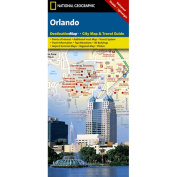 National Geographic DC01020300 Map Of Orlando - Florida