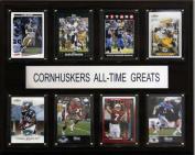 C & I Collectables 1215ATGCORN NCAA Football Nebraska Cornhuskers All-Time Greats Plaque