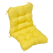 Greendale Home Fashions OC5815-SUNBEAM Outdoor Seat-Back Chair Cushion Sunbeam