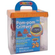Darice 467081 Foam Kit - Makes 24-Pom Pom Critters
