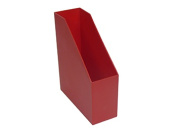 Romanoff Products ROM77702 Magazine File Red 9.5X3.5X11.5
