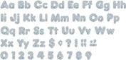Trend Enterprises Inc. T-79943 Silver Sparkle 10cm Casual Combo Ready Letters