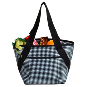 Picnic at Ascot 357-HT Houndstooth Lunch Cooler-Houndstooth