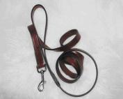 Hamilton Leather Leather Lead Burgundy 5 8 X6 - LM8 58BU