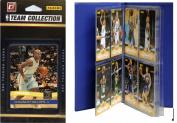 C & I Collectables 2010NUGGTS NBA Denver Nuggets Licenced 2010-11 Donruss Team Set Plus Storage Album