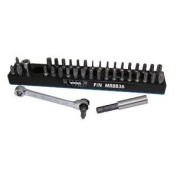 Vim Products VIMMRBB36 Magnetic Bit Base with Ratchet and 36 Bits