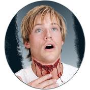 Slashed Neck Prosthetic Adult Halloween Accessory