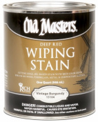 Old Masters 15104 0.9l Deep Red Vintage Burgundy Wiping Stain