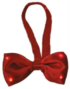 Costumes For All Occasions SA10358 Bow Tie Red Light Up