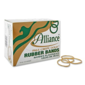 Alliance Rubber ALL20129 Rubber Bands- Size 12- .25lb- 1-.190cm .x41cm .- Approx. 96- NL
