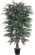 Nearly Natural 5018 Weeping Ficus Silk Tree 5 Feet