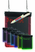 Aarco Products Inc. LF-2 Compact Ultra Lite Lighted Write-On Markerboard