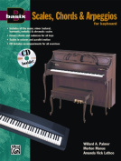 Alfred 00-14916 Basix- Scales- Chords& Arpeggios for Keyboard - Music Book