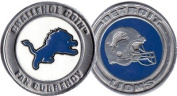 Brybelly Holdings NFL-1201 Challenge Coin Card Guard - Detroit Lions