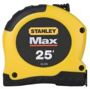 Stanley Hand Tools Max 1-.33cm . X 7.62m Tape Measure 33-279
