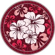 Hawaiian Hibiscus Poolsaic -red- 70cm 67B00-00058