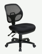 Office Star 2902-30 Ergonomic Task Chair with ProGrid Back- Black
