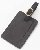 Clava 00-2288 Luggage Tag - Bridle Black