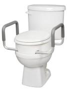 Carex Health Brands B31700 Toilet Seat Elevator Warms Standard