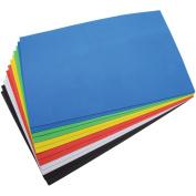 Darice Foamies Foam Sheets, 12/pkg, Basic Colours