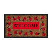 Evergreen Enterprises 2RM090 Ladybug Welcome Coir Mat