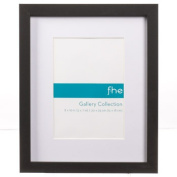 FHE Group Gallery Picture Frame, 20cm by 25cm , Black