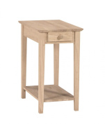 International Concepts Ot-2214 Narrow End Table, Ready To Finish