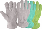 Boss Gloves 737 Ladies Assorted Split Leather Suede Gloves