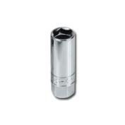 SK Hand Tool SK 4490 Flex Spark Plug Socket .38 Dr-.81