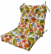 Greendale Home Fashions Indoor/Outdoor Seat/Back Chair Cushion, Esprit Multi