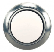 Heathco Silver Pearl Doorbell 455-A-B
