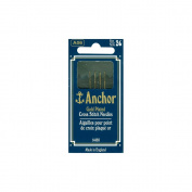 Susan Bates 73143 Anchor Gold-Plated Tapestry Needles-Size 26 4-Pkg