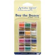 Artistic Wire Buy the Dozen Coloured 20-gauge Wire