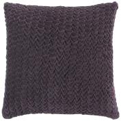 Surya P0124-1818P Poly-Filler Decorative Pillow - Plum