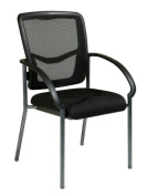 Office Star 85670-30 ProGrid Back Visitors Chair with Arms