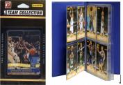 C & I Collectables 2010BUCKSTS NBA Milwaukee Bucks Licenced 2010-11 Donruss Team Set Plus Storage Album