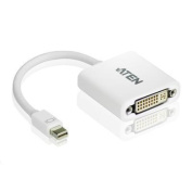 ATEN VanCryst VC960 Mini DisplayPort to DVI Adapter, is perfect for Apple Mac series products,