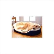 Majestic Pet 788995622420 36x24 Large Lounger Pet Bed- Blue