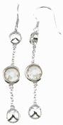 Plutus kke6362 925 Sterling Silver Rhodium Finish Fashion Earrings