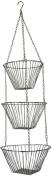 Fox Run 6312 Chrome Hanging Baskets