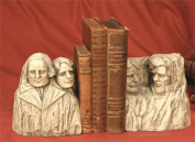 TMS P5642O Historical Wonders Mount Rushmore Book Ends Bookends
