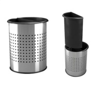 DCI Marketing 780931 InnRoom Recycler - Stainless Receptacle