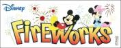 Sticko 489797 Disney Title Dimensional Sticker-Mickey-Fireworks