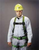 Miller by Sperian 493-E650-77/UGN Duraflex Construction Harness With Friction Buc