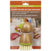 Full Circle Home 1138783 Tater Mate Potato Brush w-Eye Remover - Case of 6 - Pack